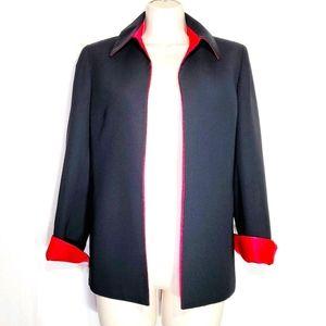 Kasper | Open Front Topper Jacket Size 6P